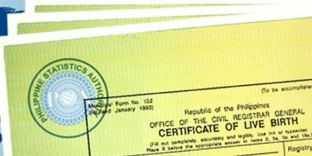How To Get Your Psa Birth Certificate At Sm Reliabooks