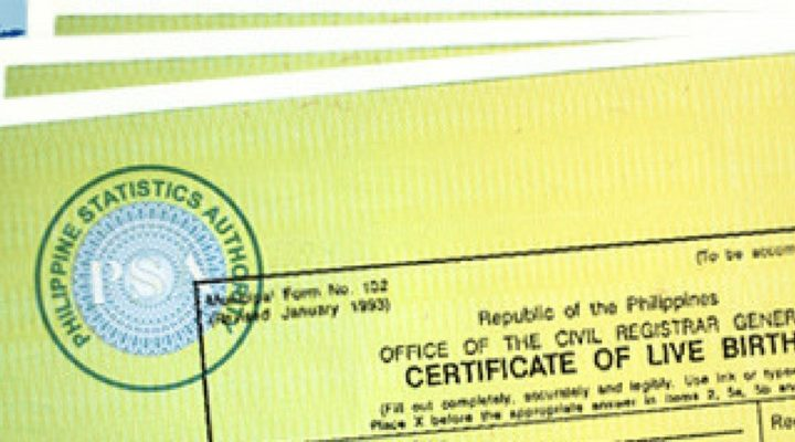 psa birth certificate in tarlac archives - reliabooks