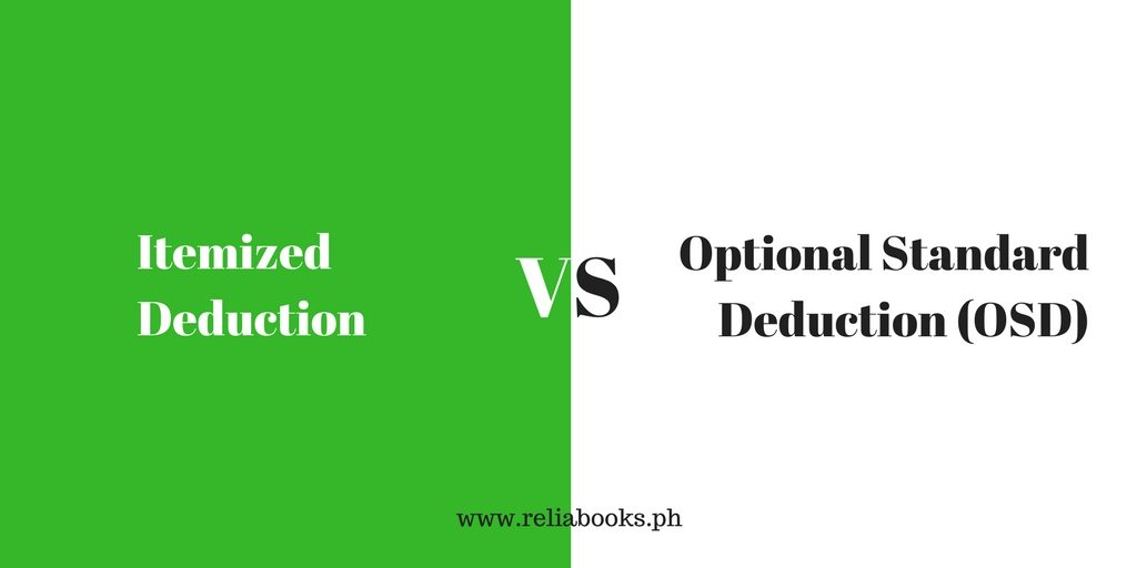 What is the standard deduction vs. itemized deduction?