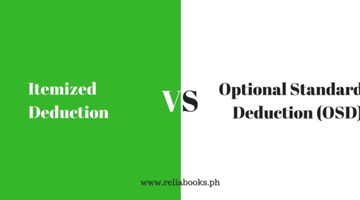 Itemized Deduction or Optional Standard Deduction