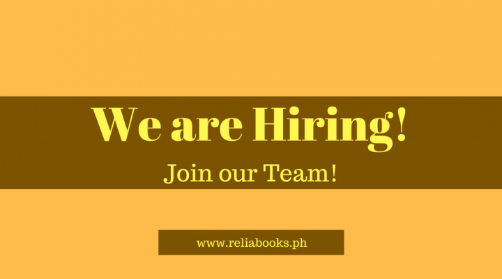 Jobs in Reliabooks Consulting