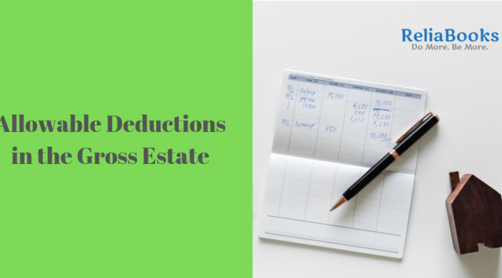 Allowable Deductions in the Gross Estate
