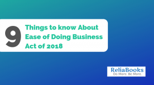Ease of Doing Business Act of 2018